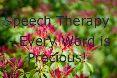 Speech Therapy - Every Word Is Precious image